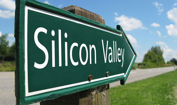 Silicon Valley Arrow Sign